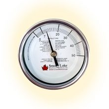 Maple Thermometer with 0-50 Scale