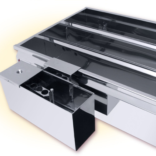 Divided Flat Pan with Optional Float Box