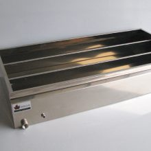 flat pan with dividers