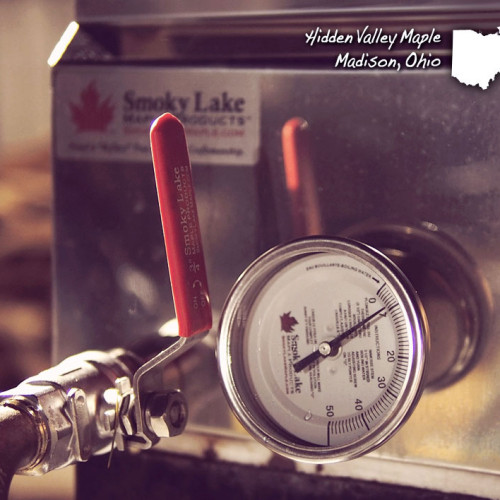 0-50 Scale Thermometer for Boiling Maple Sap