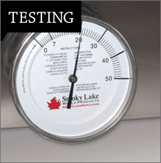 maple testing equipment