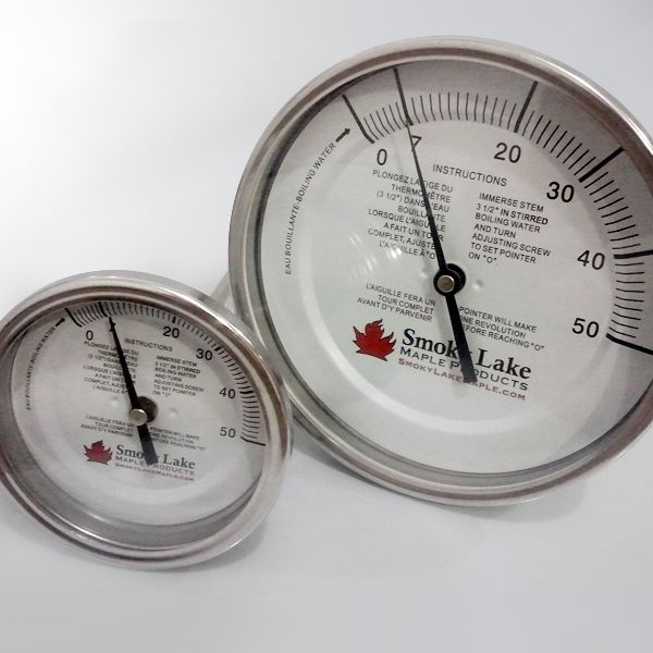 "Thermometers 3"" and 5"" Dials"