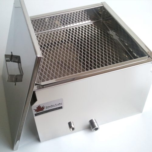 Filter tray and cover included