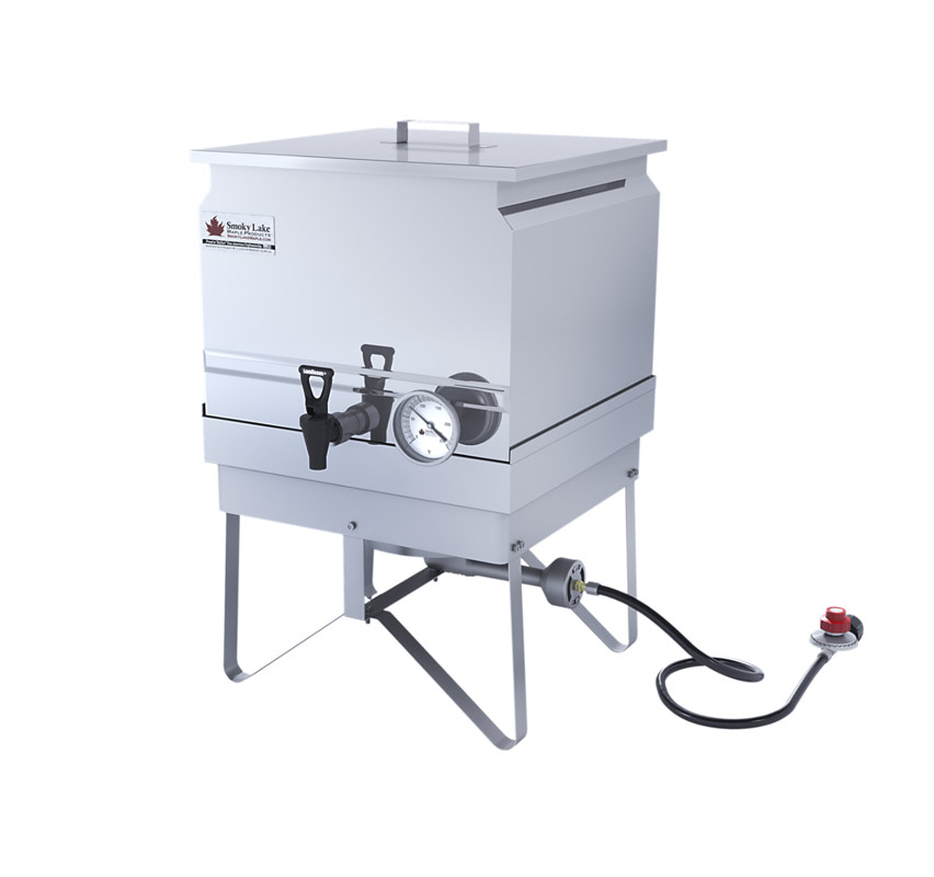 "16"" x 16"" Gas Steam Bottler"
