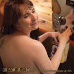 Alyssa is bottling hot maple syrup in nostalgic tins