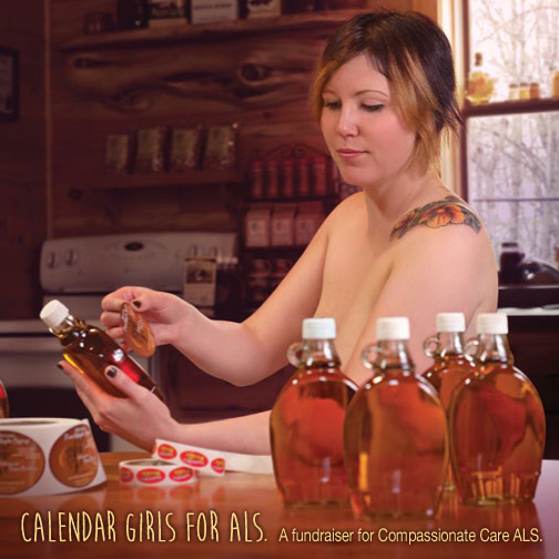 calendar fundraiser for als  smoky lake maple products