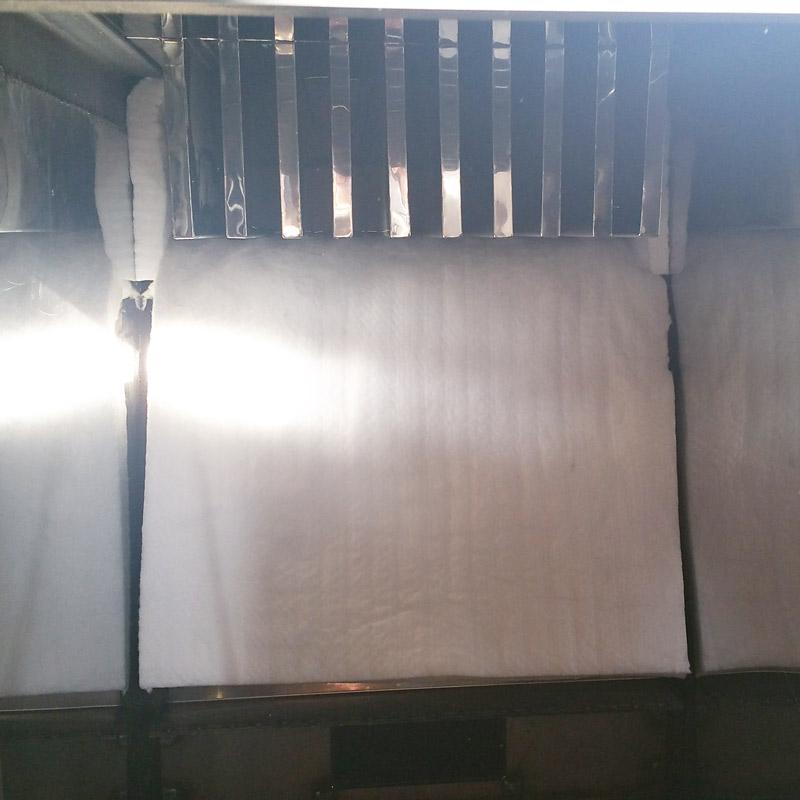 Ceramic Blanket Insulation For Maple Evaporators