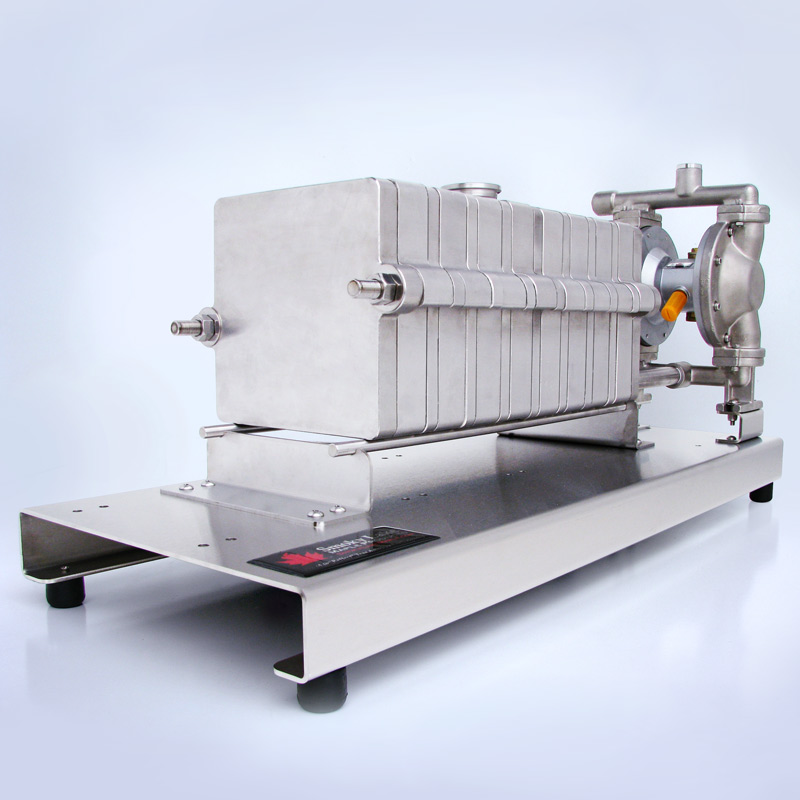 The Industry S Only Stainless Steel Filter Press From
