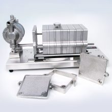 Stainless steel filter press and plates