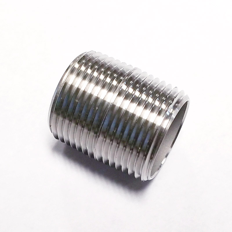 "Stainless Steel Nipple - 3/4"" NPT"