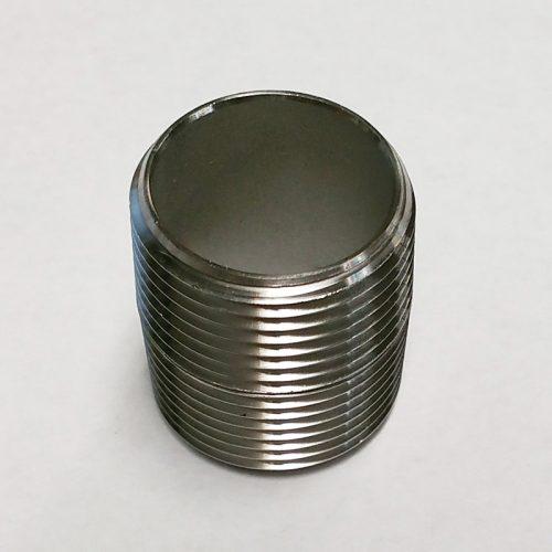 """Stainless Steel Nipple - 3/4"""" NPT"""