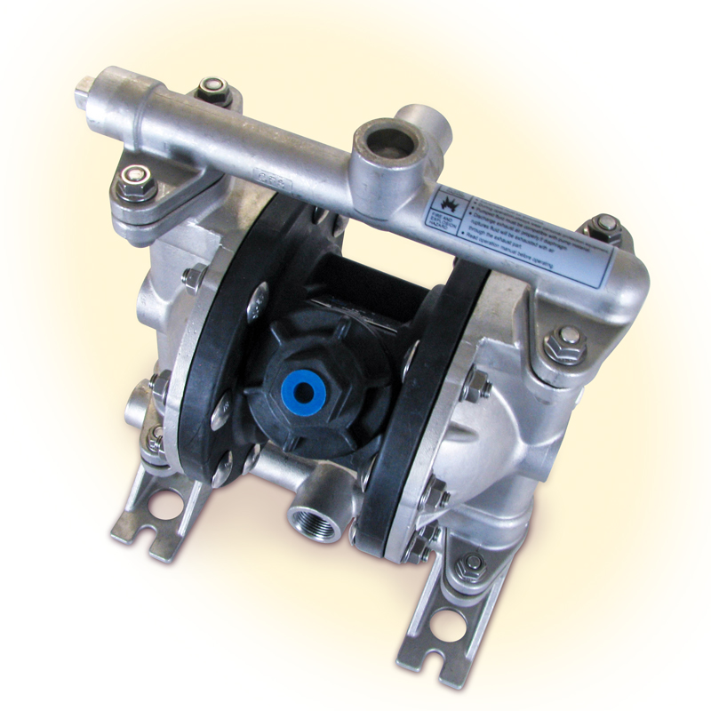 Stainless steel air diaphragm pump smoky lake maple