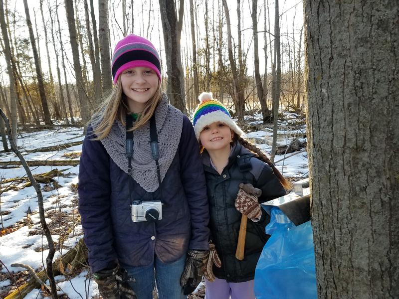 Rita and River use Bag Holders