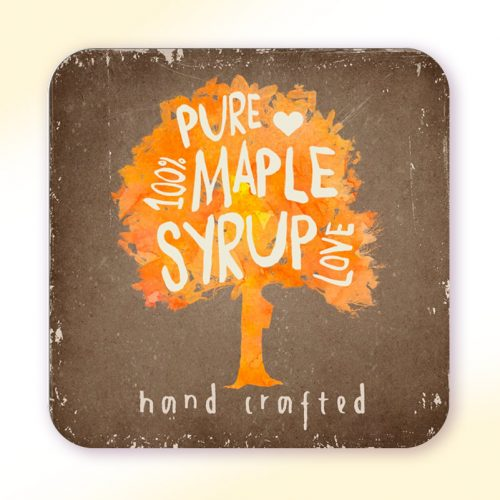 100 Percent Pure Maple Syrup Love Hand Crafted