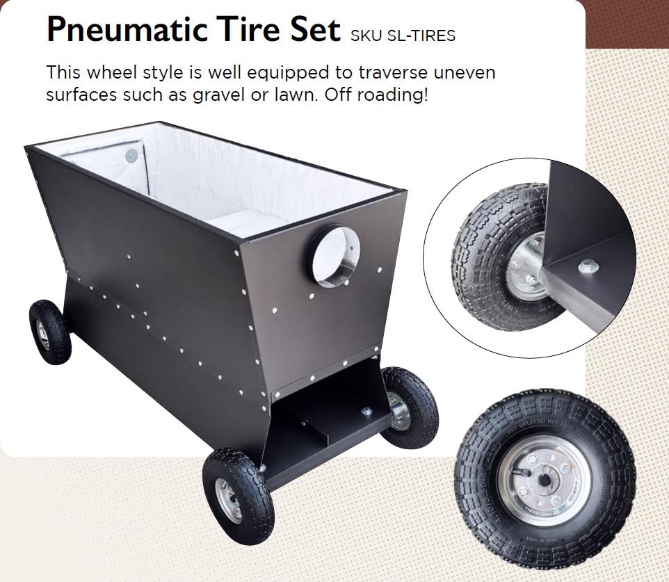 Pneumatic Tires for StarCat or Dauntless
