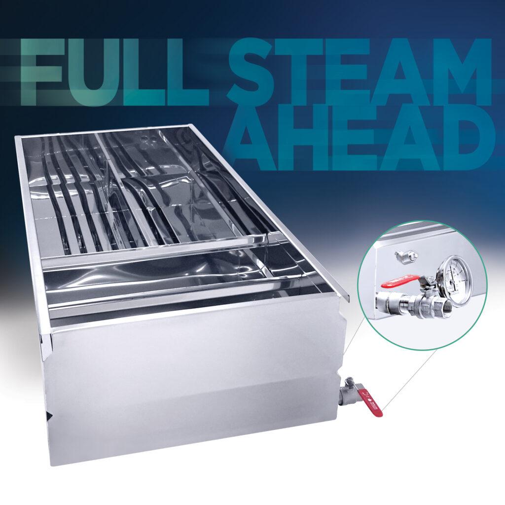 Full Steam Ahead – Hybrid Pan