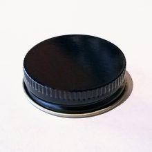 Metal Cap, Black