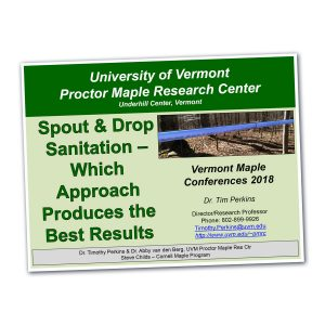 Fact Sheet from University of Vermont