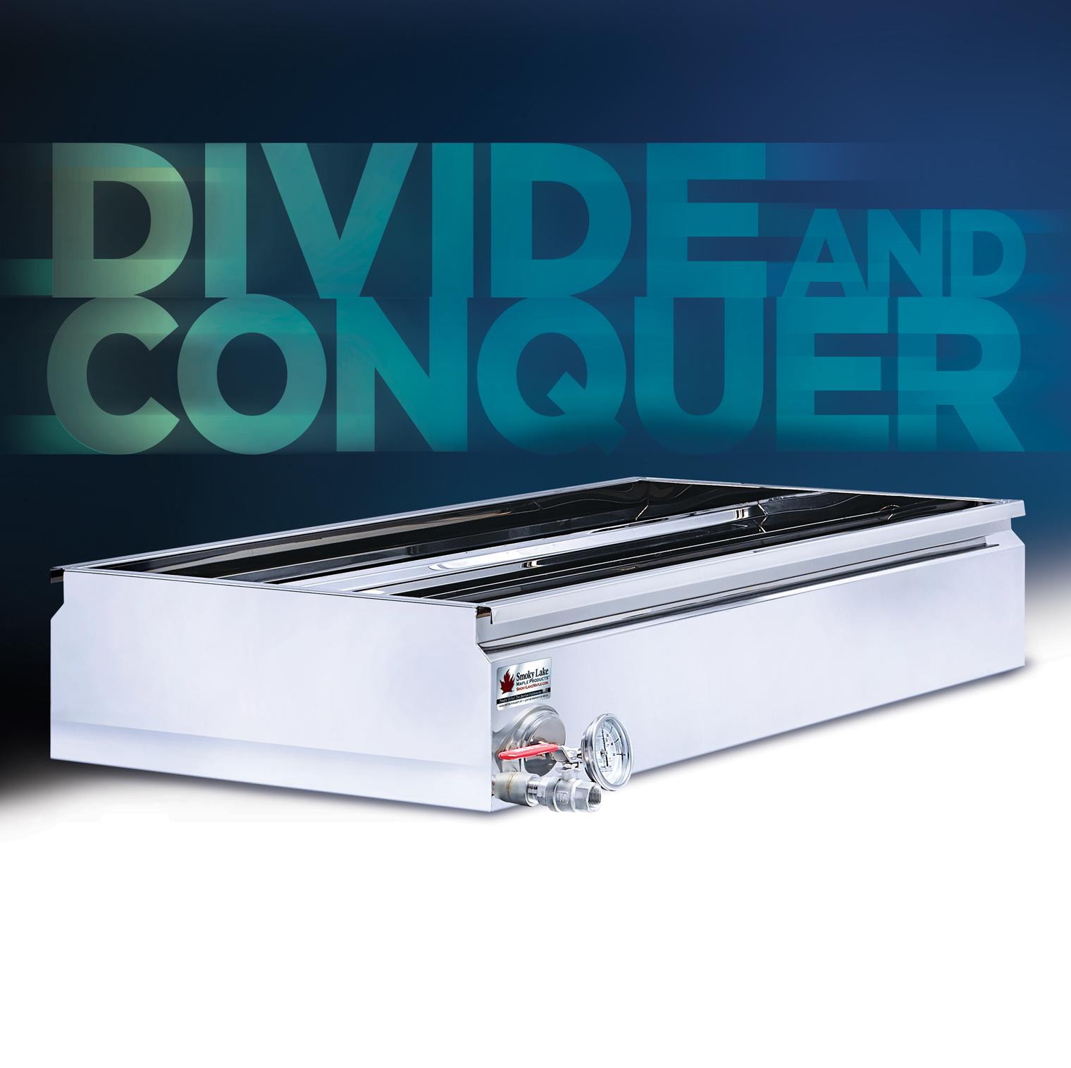 Divide and Conquer – Divided Pan by Smoky Lake