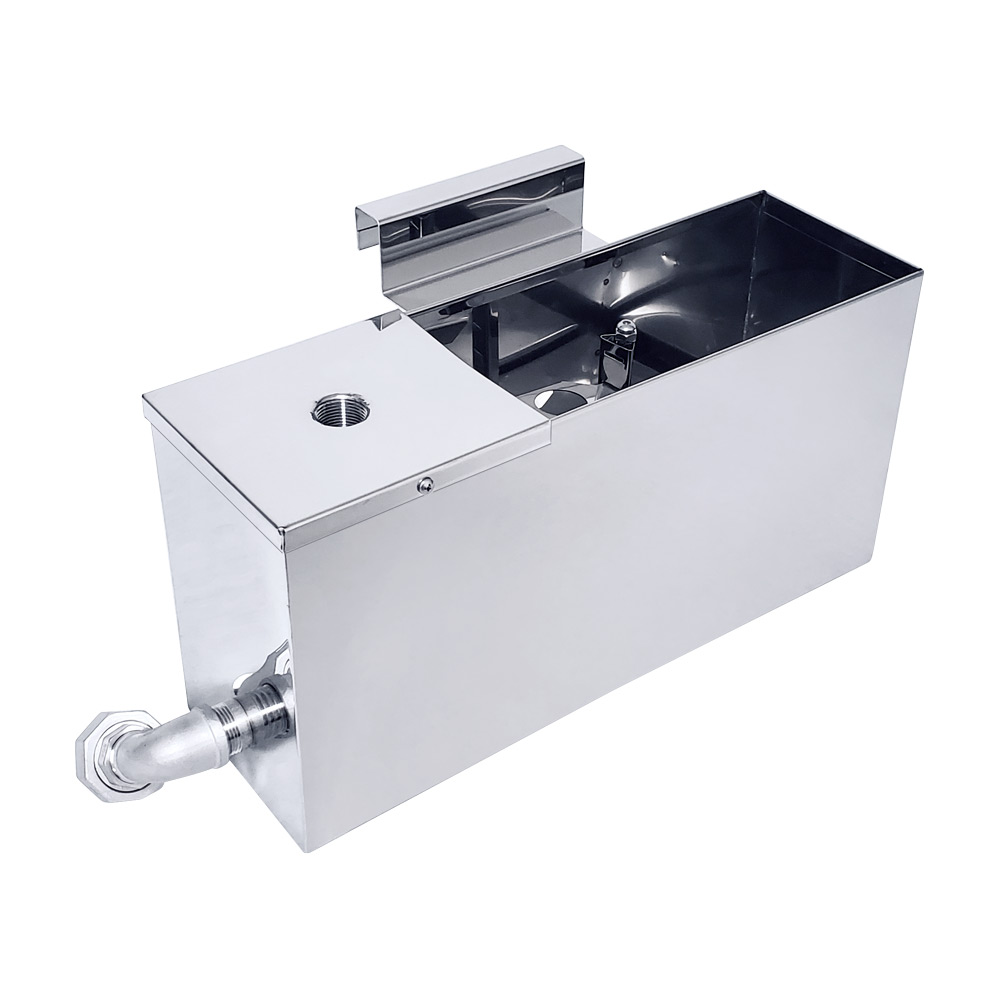 Inlet Float Box for a Divided Pan