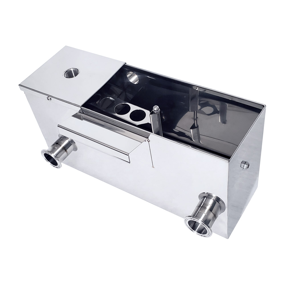Inlet Float Box for a High Output Pan Set with Standard Configuration