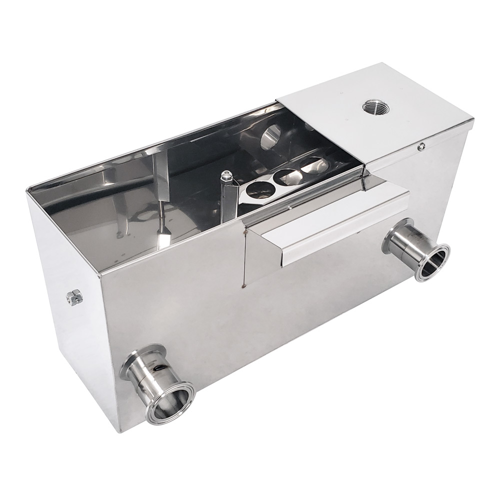 Inlet Float Box for a Same Side Reverse Pan Set with Right Side Draw Off