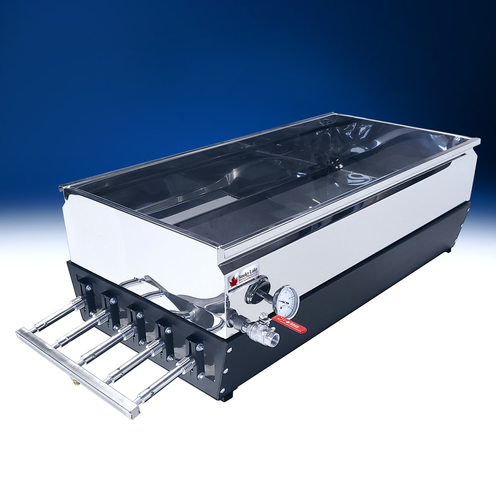 Smoky Lake 2 x 4 Gas-Fired Finisher Evaporator with Flat Pan