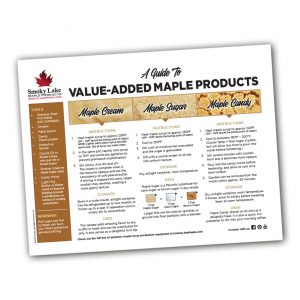 Guide to Value-Added Products