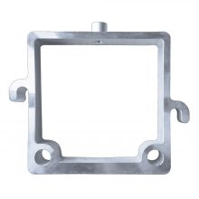 Window Plate with Port for Thermometer