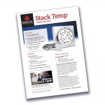 Stack Temperature Thermometer Instruction Sheet Image